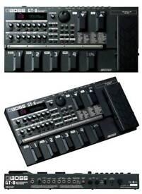Boss GT8 multi effect guitar pedals