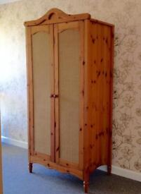 Mamas and papas pine wardrobe