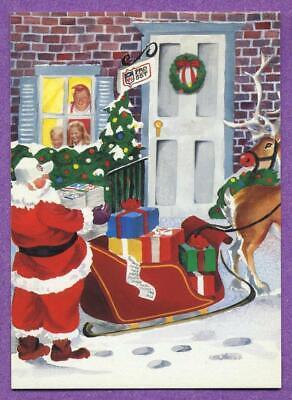 1991 Pro Set Spanish Football Santa Claus Short Print Insert #E5 - Felicidades