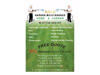 Gardening, Landscaping, Guttering, Roof, Patio and Driveway cleaning