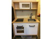 Ikea children kids toy kitchen + cash register + toy food