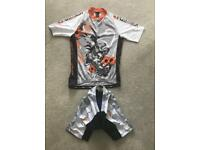 New! Funkier Cycling Jersey & Shorts