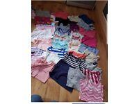 Huge bundle of girls summer clothes age 5-7