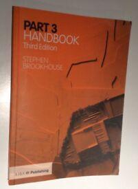 Part 3 Handbook by Stephen Brookhouse