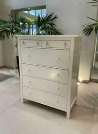 FREE DELIVERY 🚚 IKEA WHITE HEMNES CHEST OF 6 DRAWERS GREAT CONDITION