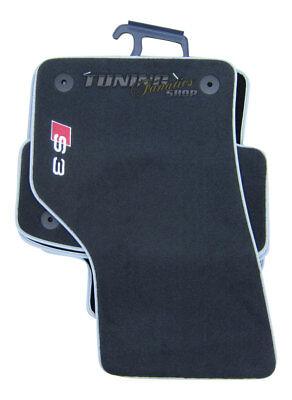 Original S3 Premium Gummi-Fußmatten Matten SET für Audi A3 und S3 8V
