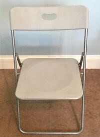 Selection of Folding Chairs £11 each Ideal for extra seating for Christmas