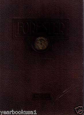 Forest Avenue High School Dallas Texas 1924 Forester Hs Yearbook Annual