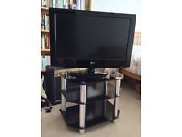 "32"" HD ready LCD LG TV and stand in perfect woking order"