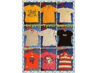 boys 6-7years clothes bundle 10 tops for £15!