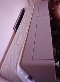 Highgrove 3 foot Harrington 2 drawer Single Divan Bed