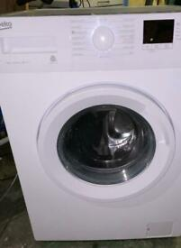 Large 7kg Beko washing machine 6mth old. Excellent condition Can drop off free if local