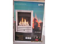INSET LIVING FLAME GAS FIRE