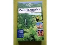 Lonely Planet - Central America on a shoestring > collection only please