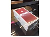 Brand new sealed Iphone 7 plus 128gb RED. Virgin Mobile