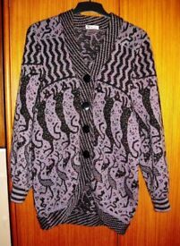 LADIES JACKET. ORIGINAL DESIGN. SIZE 14 / 16. AS NEW, HARDLY WORN. CUFFED SLEEVES