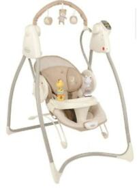 Graco baby swing and bouncer in excellent condition
