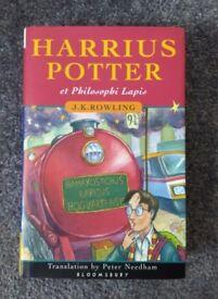 Harrius Potter et Philosophi Lapis (Latin language edition) by Rowling, J. K