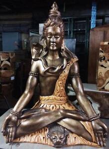 Statue Shiva Dieu Hindou Indonésie // Shiva  Deities Hinduism Statue from Indonesia