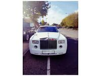 Rolls Royce Phantom Hire £295**Rolls Royce Ghost £345**Bentley Mulsanne Speed £345**Wedding Car Hire
