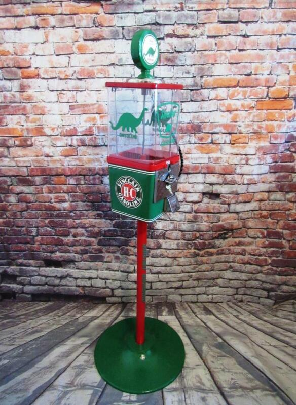 SINCLAIR man cave decor vintage gumball machine Fathers day gift bar game room