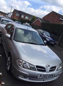 Nissan Silver colour 5 doors & 5 seater car 2 previous owner 6 months MOT electronic windows