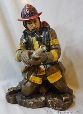 Fireman, Fire Fighter Statue, Figurine