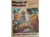 Vintage 1970's 'World of Wonder' magazine edition number 214.