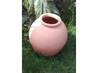 Attractive new terracotta plant forcing pot or garden ornament/focal point £30