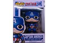 Captain America Civil War Pop Figure