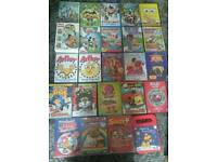 Bundle of 24 kids dvds including films, retro stuff, Disney and Cbeebies