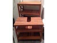 BATHROOM TEAK FURNITURE