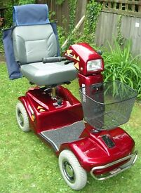 A Red Rascal mobility scooter £375 o.n.o