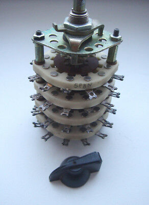 5p8n 5-position 8-pole Ceramic Rotary Switch 3a 350v