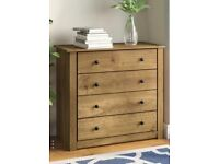 Bedroom drawers and 2 matching bedside tables