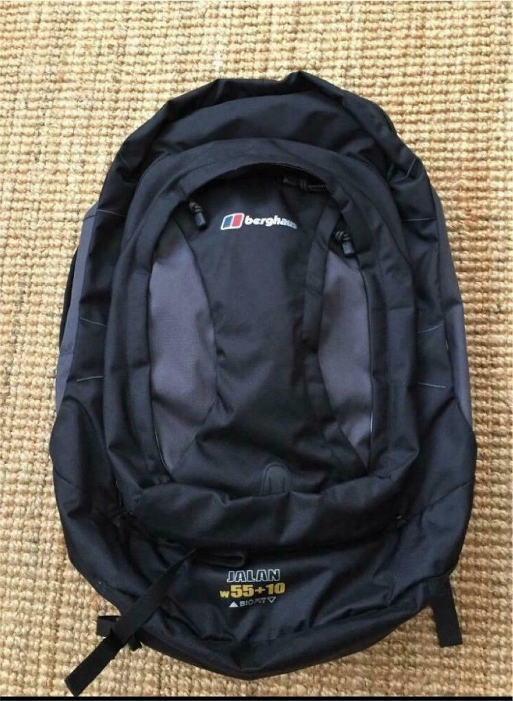 3dbaf15f1c20 New Berghaus Jalan - 55 + 10 - BIOFIT Backpack