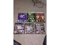Ps3 and xbox 360 games joblot