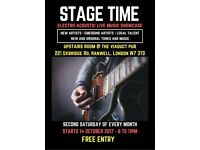Artists Wanted for New Live Music Event in West London