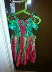 Christmas fairie Fairy dress age 3-4