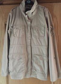 H&M Size 14 Neutral Coat