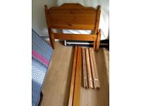 One Wooden Single Bed for quick sale