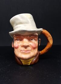 Bill Sykes miniature character jug - Cooper Clayton - very good condition