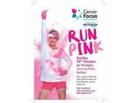 In Pink- Colour Run