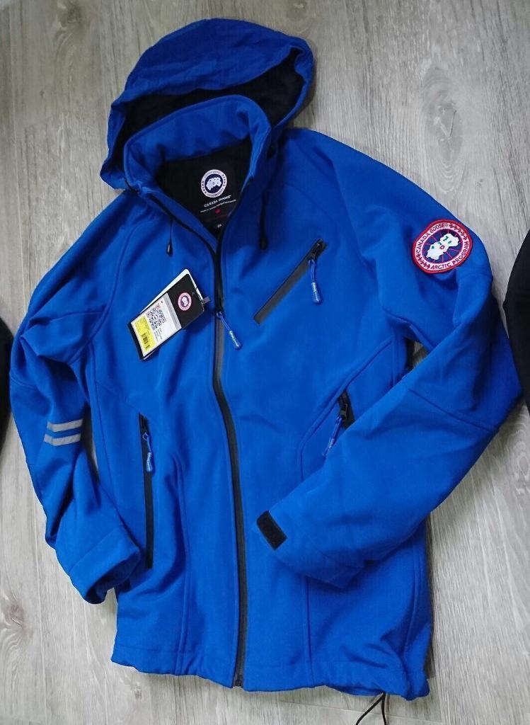 Canada goose XXL Blue winter jacket soft shell