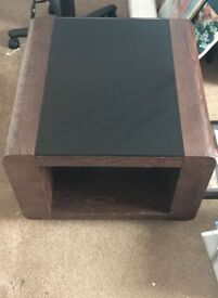 DFS solid wood& glass tables RRP. £500. Sale £200