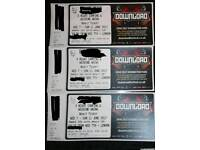 Download Festival 2017 3 x 5 day tickets
