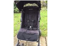 Maclaren stroller and raincover