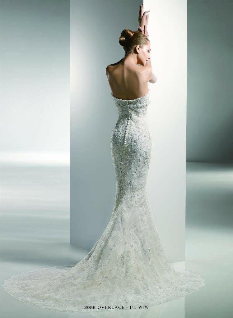Benjamin Roberts 2228 2056 Wedding Dress Size 8