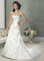 Maggie Sottero, Alexandria Wedding Dress in Ivory/champagne
