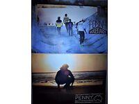 2 x Large Penny Skateboard Skateboarding Skater Poster